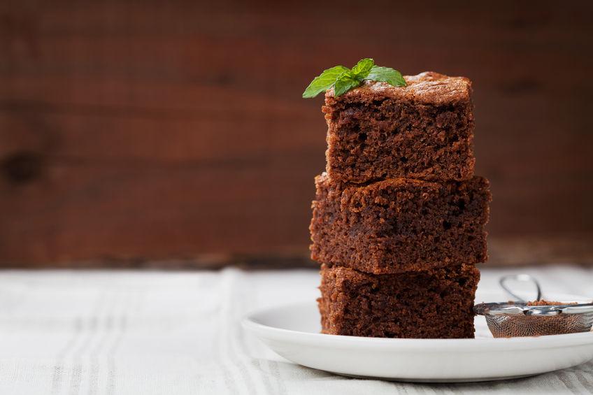 vegetarische brownies