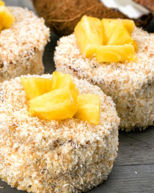 ananas kokos gebak