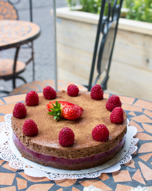 Red Fruit Chocolate Mousse